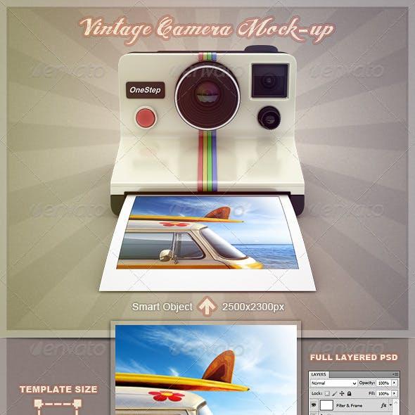 Vintage Camera Mock-Up