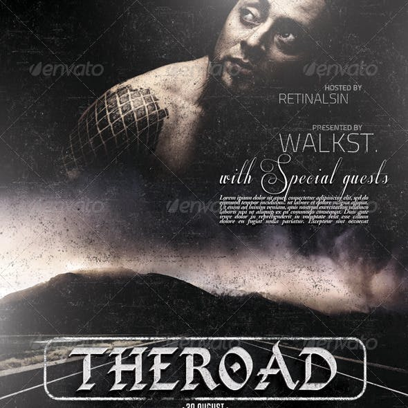The Road Flyer Template