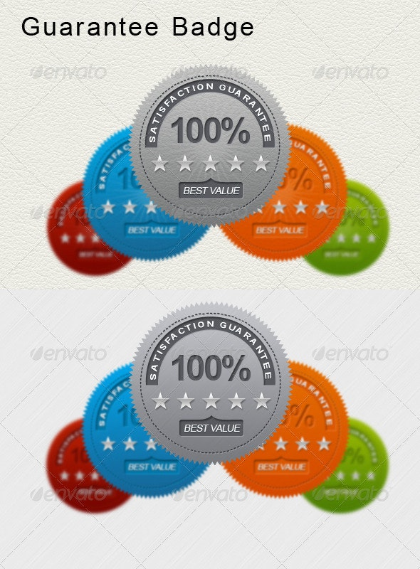 Guarantee Badge - Badges & Stickers Web Elements