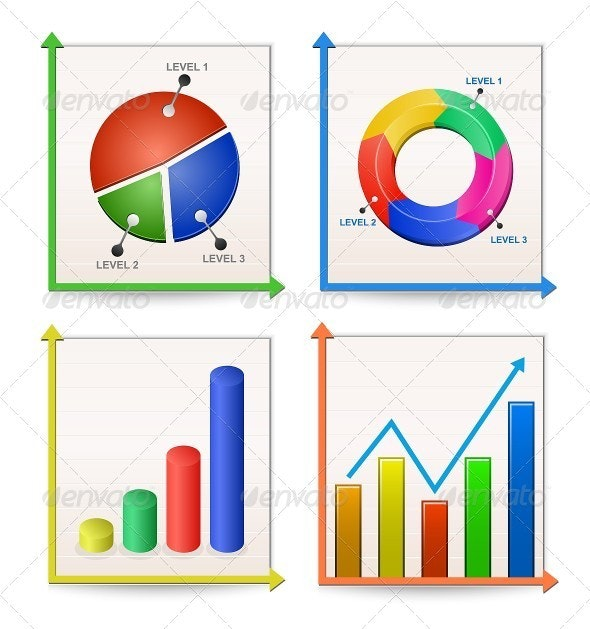 Charts and Graphs Collection - Infographics