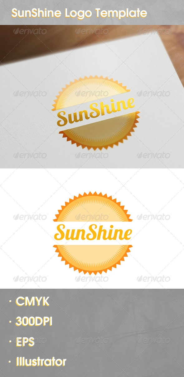 SunShine Logo - Vector Abstract