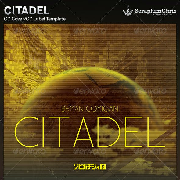 Citadel: CD Cover Artwork Template