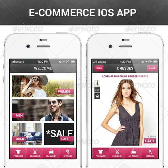 E-Commerce IOS App