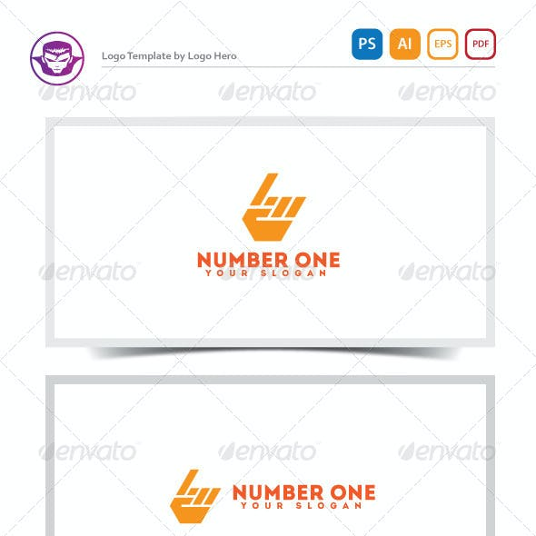 Download Number One Logo Template