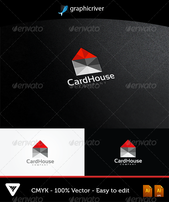 CardHouse Logo - Logo Templates