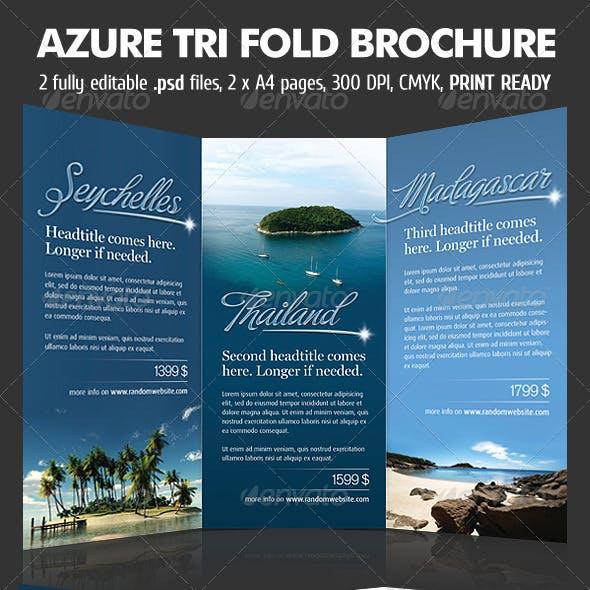 Azure TriFold Brochure