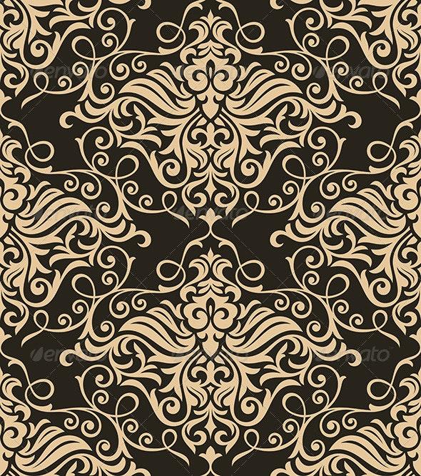 Retro Floral Pattern - Patterns Decorative