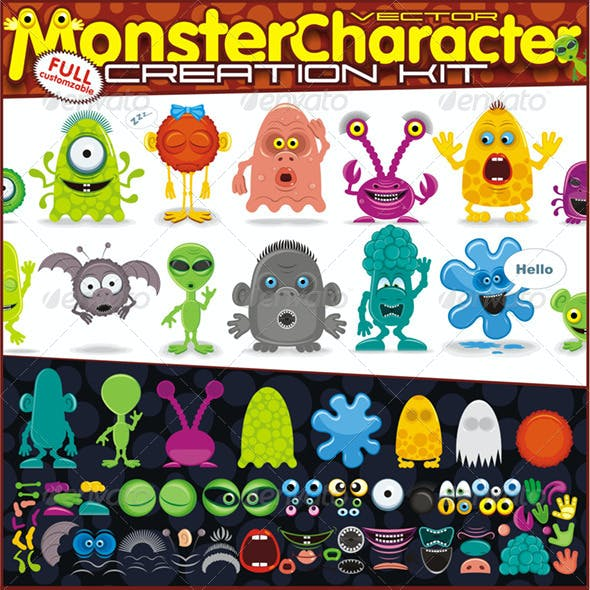 Monster or Creatures Creation Kit