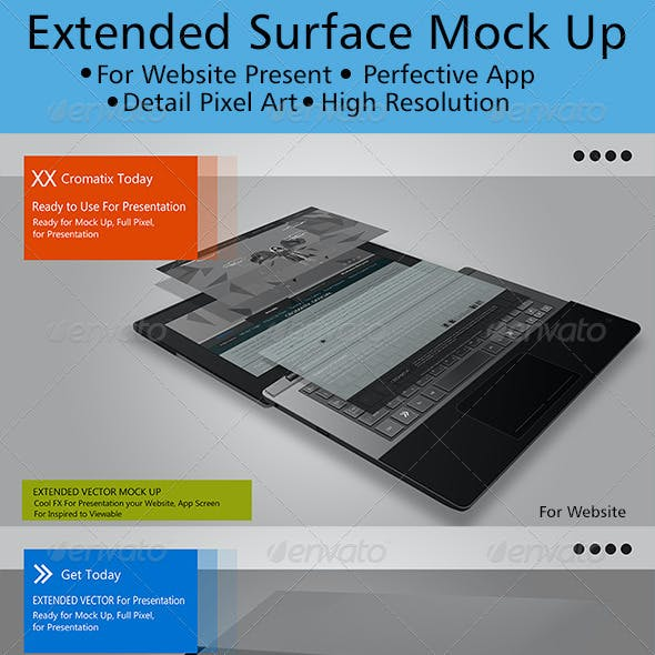 Extended Surface Mock Up
