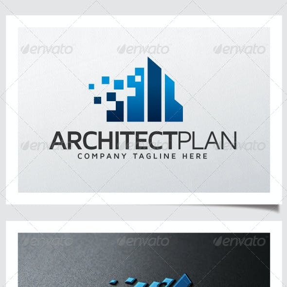 Architect Plan Logo