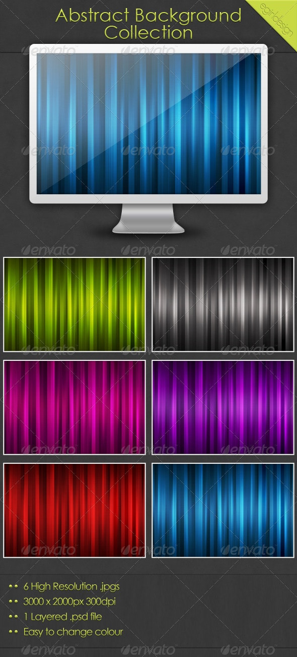 Abstract Background Set - Abstract Backgrounds