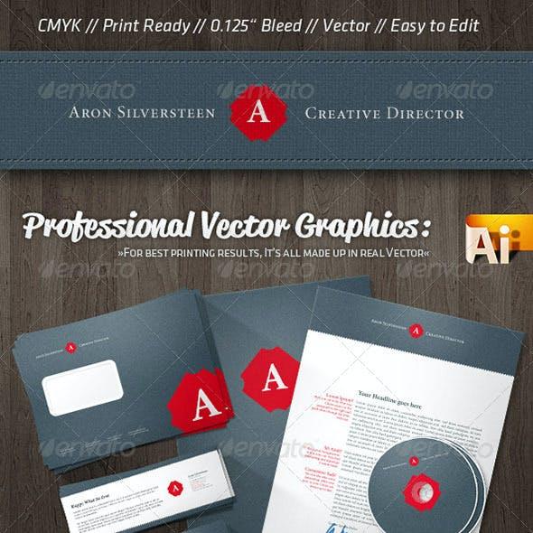 Creative Director Corporate Identity Retro Style