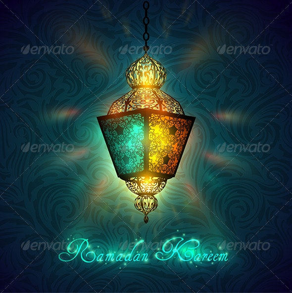 Ramadan Kareem Celebration - Religion Conceptual