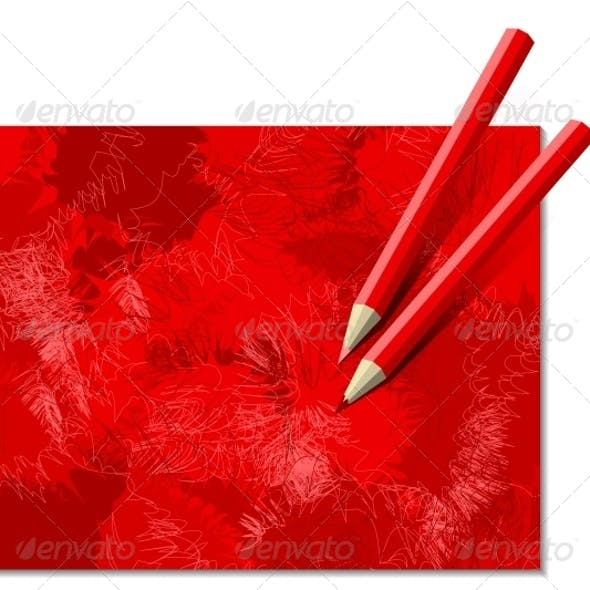 Download Two Red Pencils