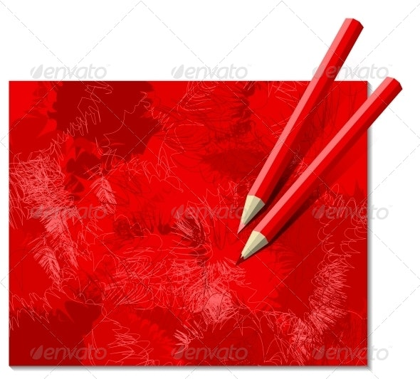 Two Red Pencils