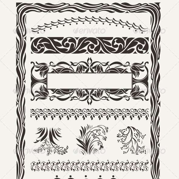 Download Original Design Frames and Page Decorations