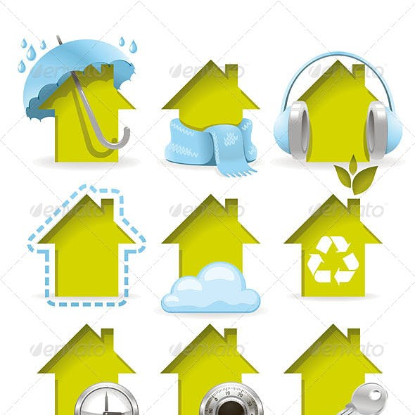 Housing Icons