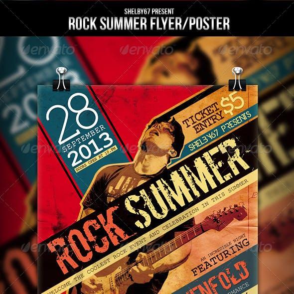 Rock Summer Flyer / Poster
