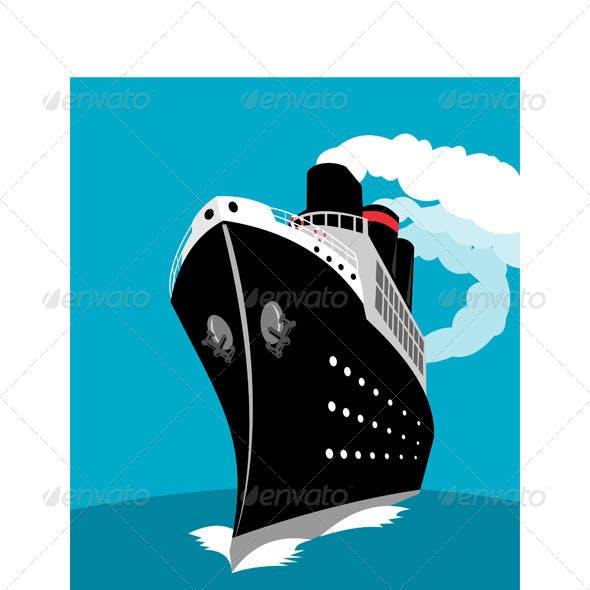 Ocean Liner Passenger Cruise Ship