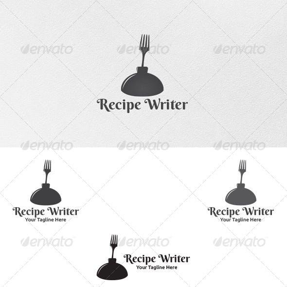 Download Recipe Writer - Logo Template