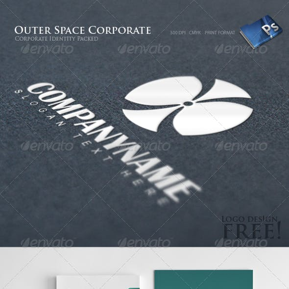 Outer Space - Corporate Identity 8