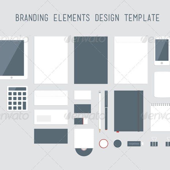 Branding Design Elements Set