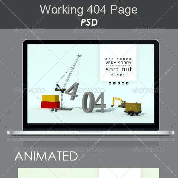 Working 404 Page