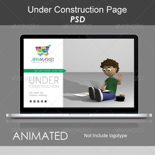 Under Contruction Page