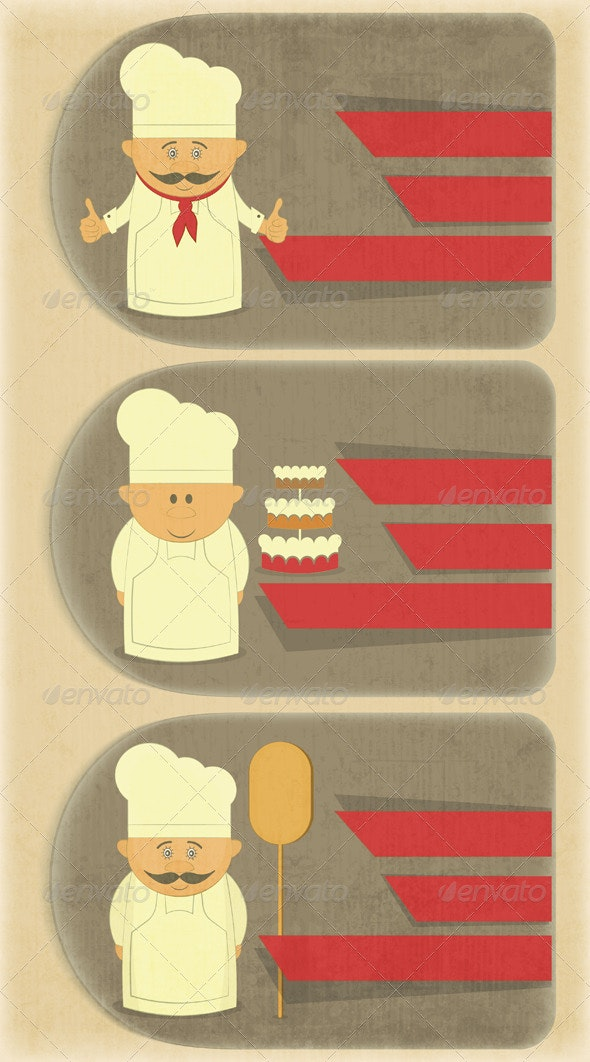 Vertical Cover Menu for Bakery