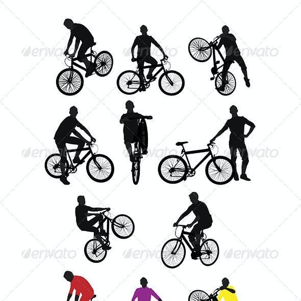 Bike Silhouettes