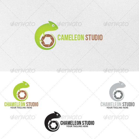 Chameleon Studio - Logo Template