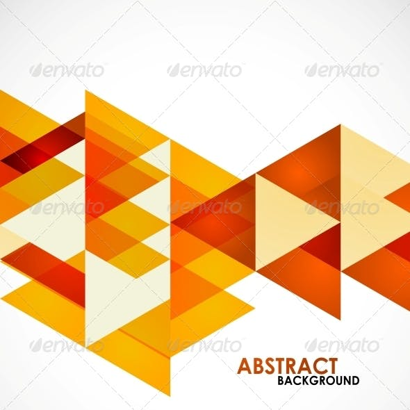 Orange Business Triangles