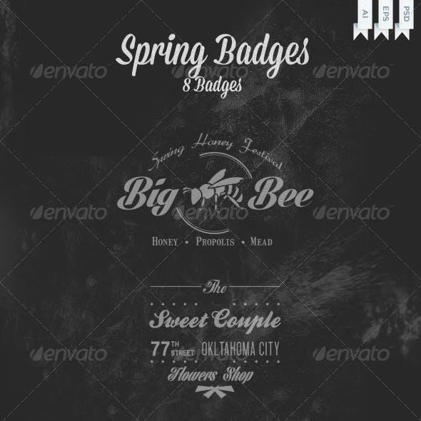 Spring Badges