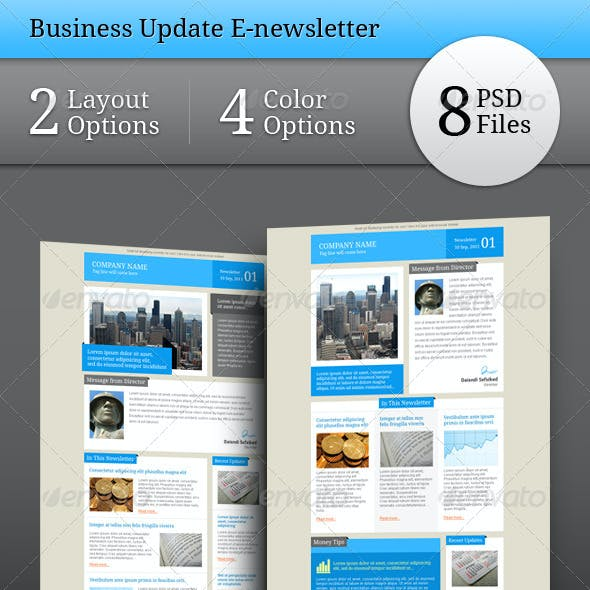 Business Update E-newsletter