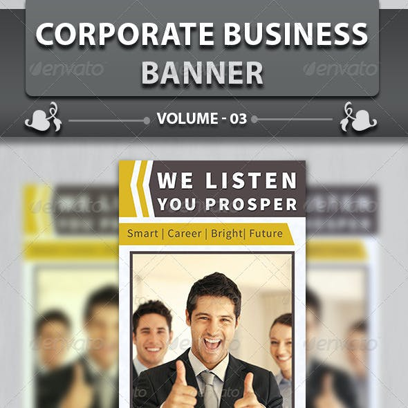 Corporate Business Banner | Volume 2