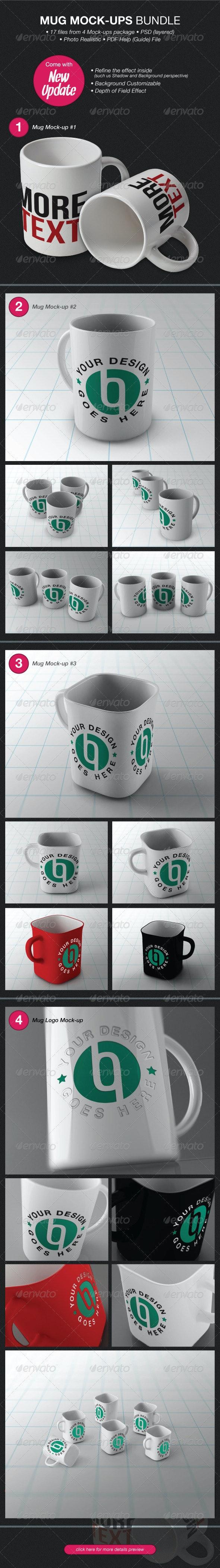 Mug Mock-Ups Bundle - Miscellaneous Product Mock-Ups