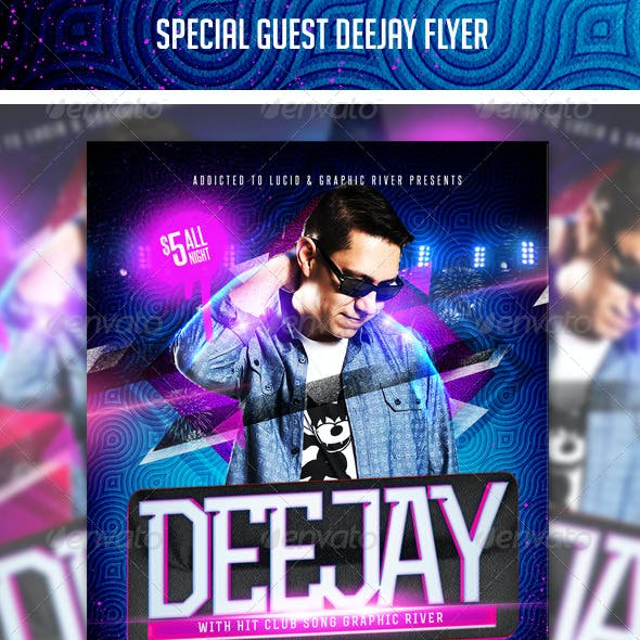 Special Guest Deejay Flyer