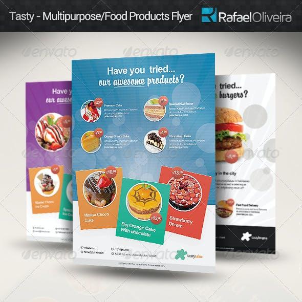 Tasty - Multipurpose/Food Products Flyer
