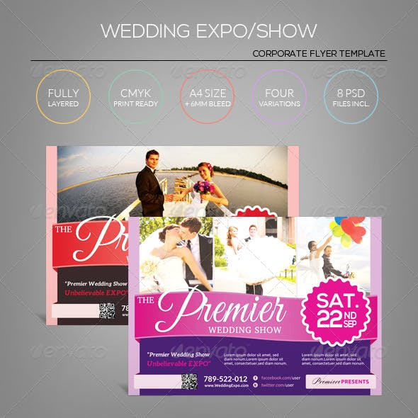 Wedding Expo/Show Flyer Template