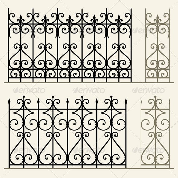 Wrought Iron Modular Railings and Fences