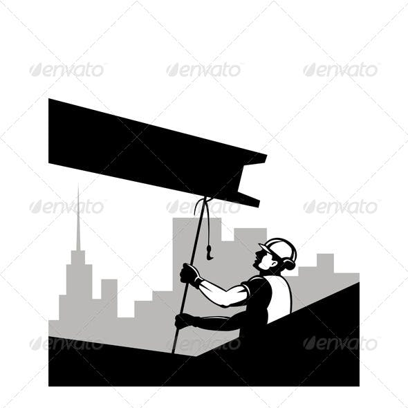 Download Construction Worker at Work