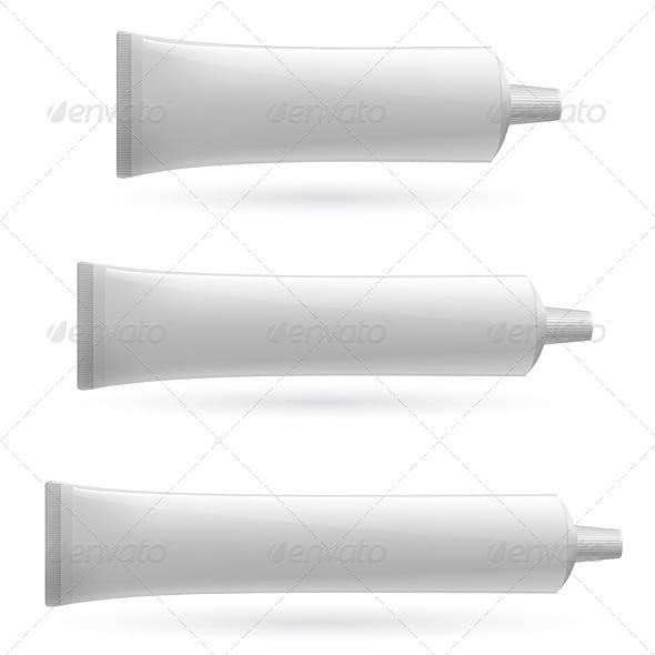 Three White Tube