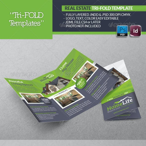 Real Estate Tri-Fold Template
