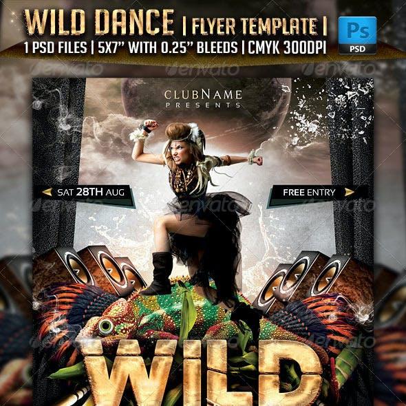 Wild Dance Flyer Template