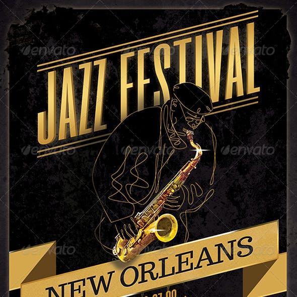Jazz Poster - Flyer Design