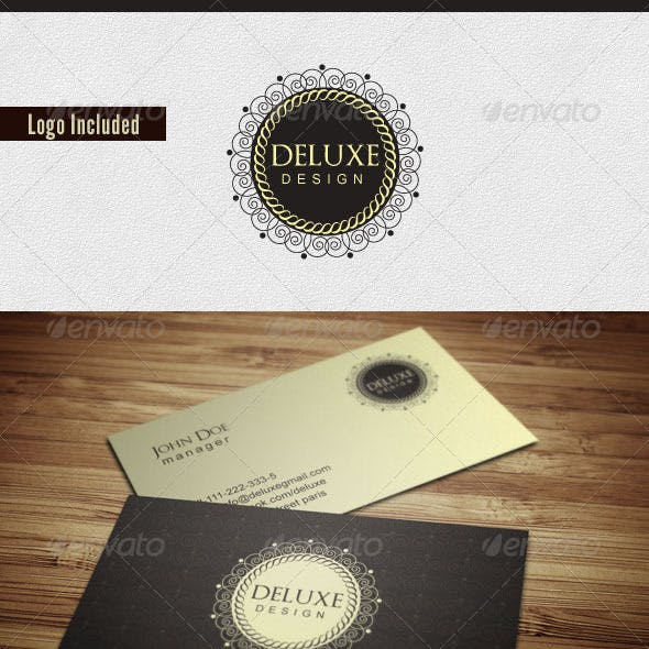 Elegant Deluxe Business Card