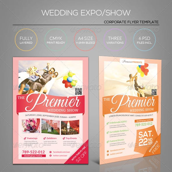 Wedding Expo/Show Flyer Template II