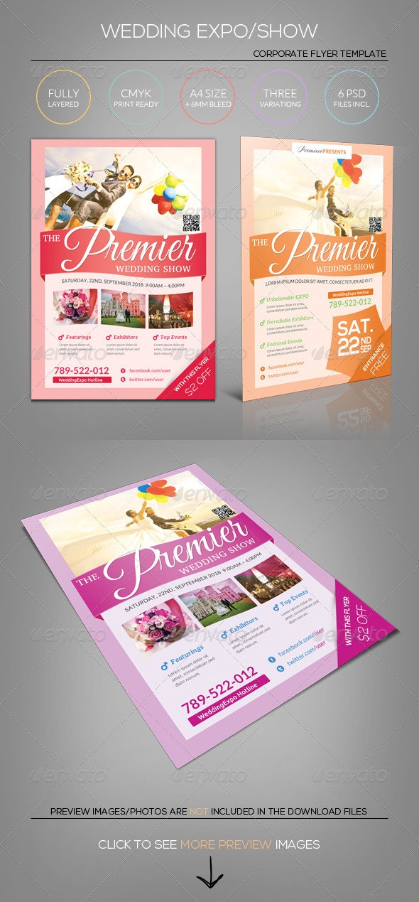 Wedding Expo/Show Flyer Template II - Miscellaneous Events