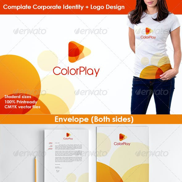 Color Play Studio Stationery
