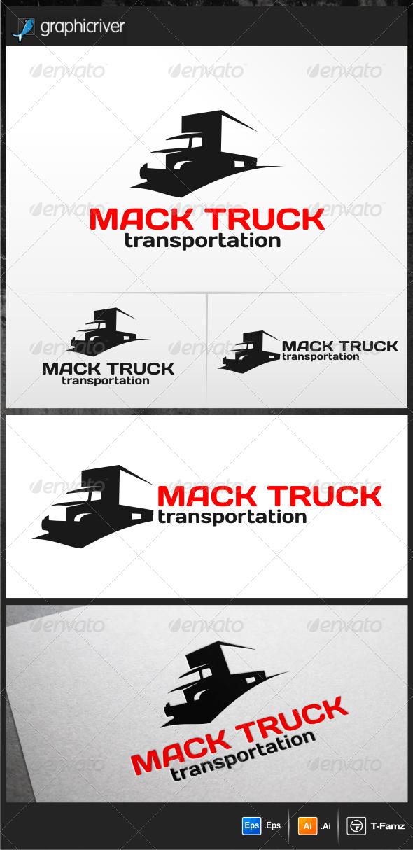 Mack Truck Logo Templates - Objects Logo Templates